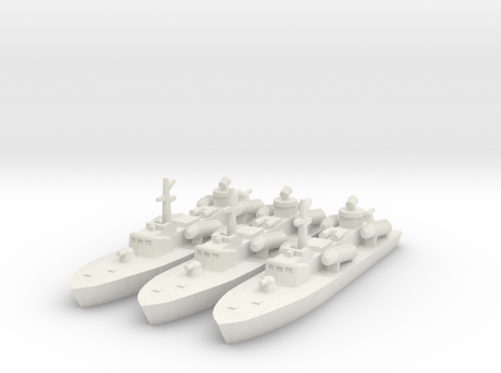 1/700 OSA-2 Missile Boat 3d printed
