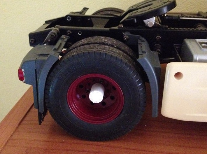 Hub for Tamiya trucks 1/14 wheels 3d printed Add a caption...