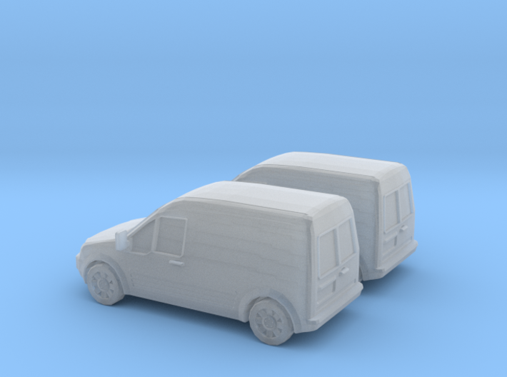 1/160 2002-08 2X Ford Transit Connect 3d printed