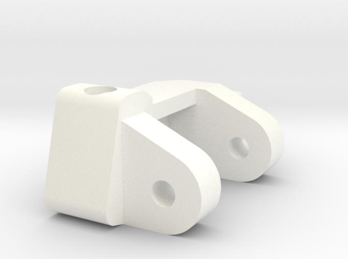 1/5 Scale Caster Block, LH 3d printed
