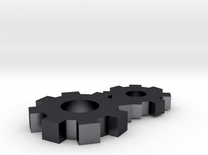 Gears Pendant 3d printed