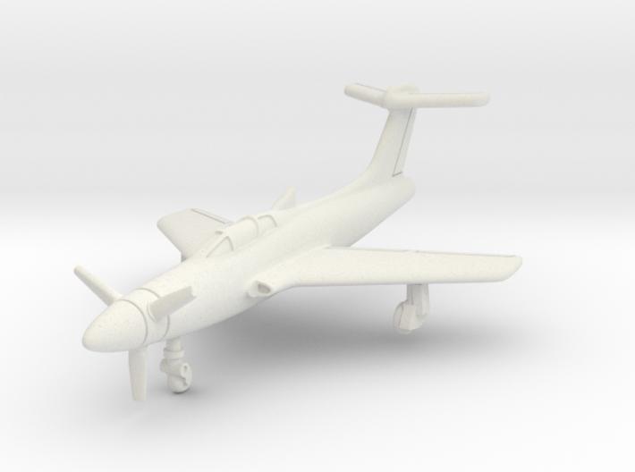 Republic XF-84H Thunderscreech 1/285 6mm 3d printed