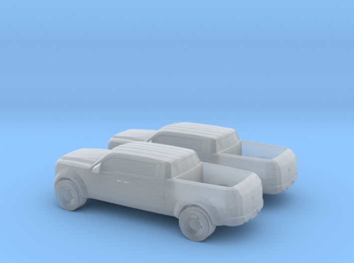 1/160 2X Ford Super Chief 3d printed
