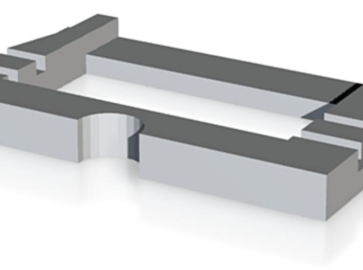 Hållare för TB-koppel till Lenz vagn - 1 st 3d printed