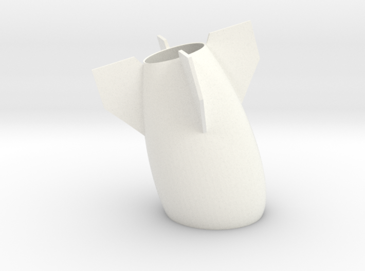 Peaceful Bomb Vase 3d printed