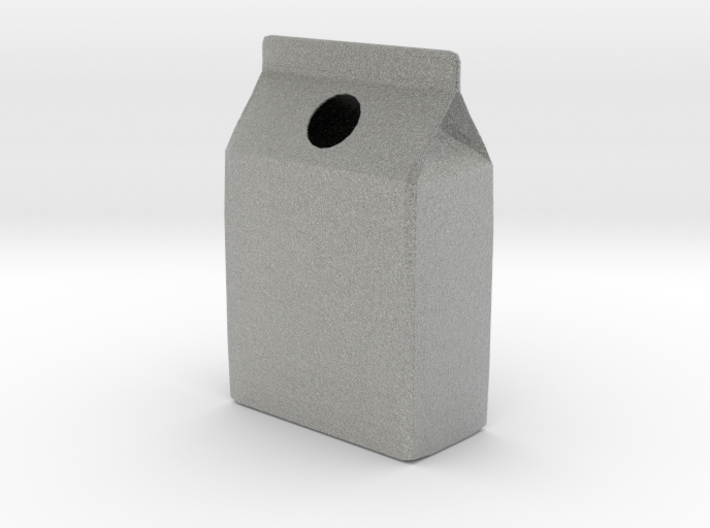 Milk Carton Vase 3d printed