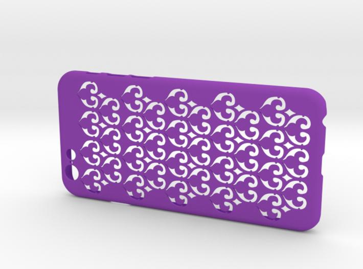 Fleur-de-lis iPhone6/6S case 3d printed