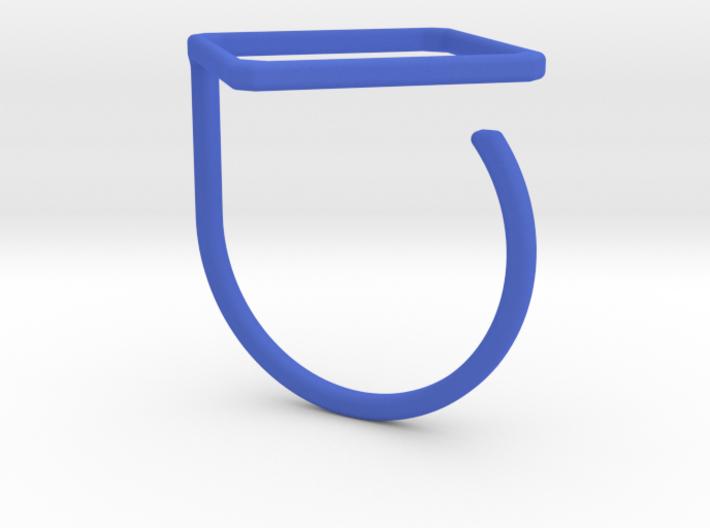 Rhombus ring shape. 3d printed