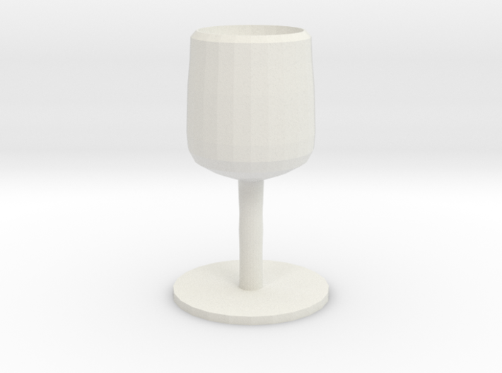 THE SILVER GOBLET 3d printed