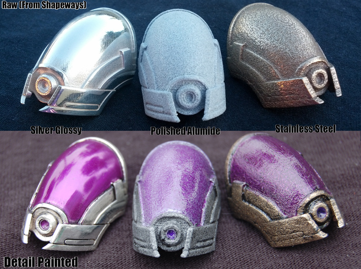 Tali Mask/Helmet Pendant 3d printed READ BELOW