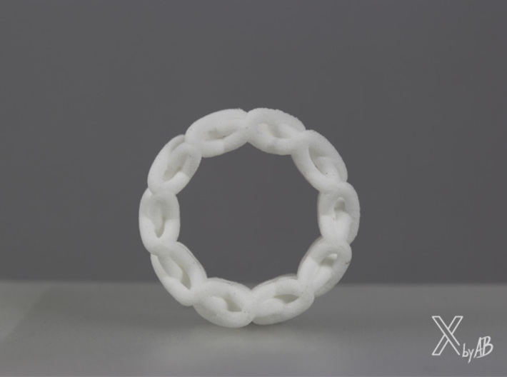 Cross-Stitches Ring 8.7 3d printed Cross-Stitches Ring side view