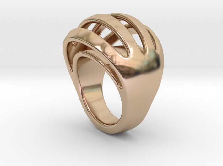 RING CRAZY 32 - ITALIAN SIZE 32 3d printed