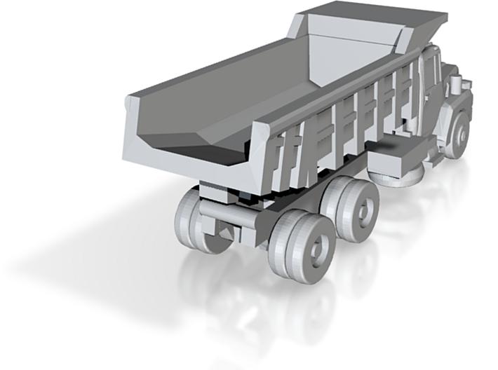 Mack Dump Truck - Z scale 3d printed