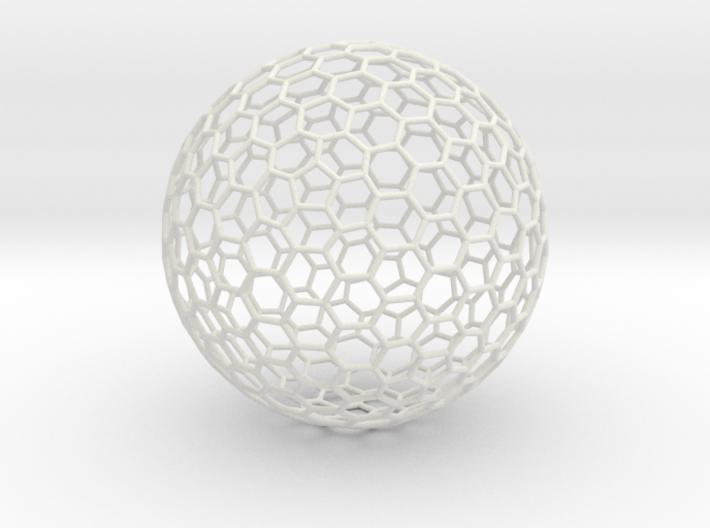 Goldberg Polyhedron 1 3d printed