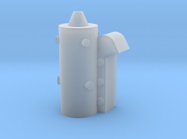 1:96 scale Perry Diesel Stack 3d printed
