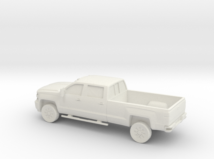 1/87 2015 Chevrolet Silverado Long Bed 3d printed