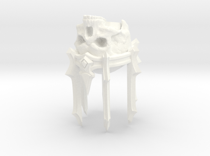 SL01-Head-04b LICH  7inch 3d printed