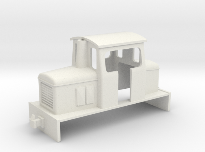 009 small OK centercab diesel 3d printed
