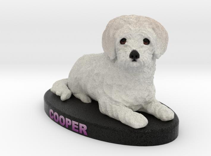 Custom Dog Figurine - Cooper 3d printed
