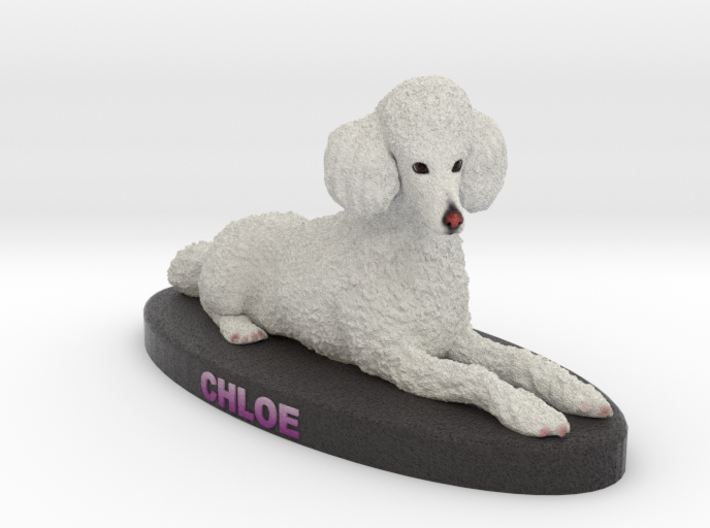 Custom Dog Figurine - Chloe 3d printed