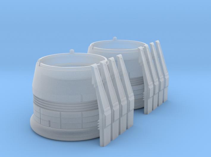ENTERPRISE NX01 SET NACELLE CAP 3d printed