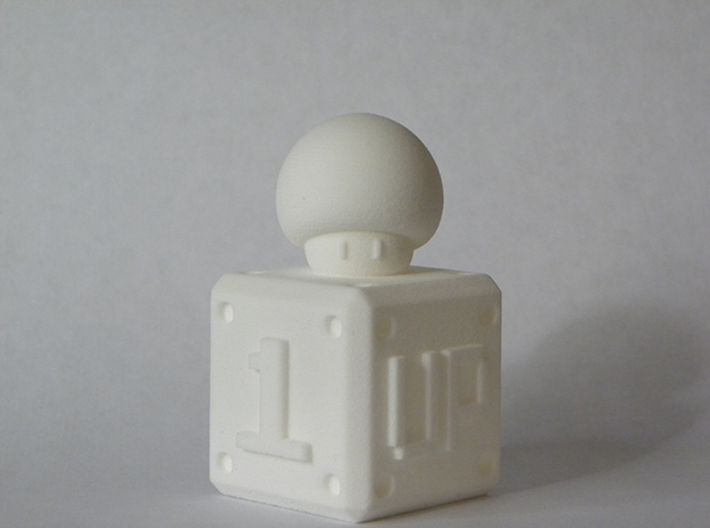1 UP 3d printed From the Front