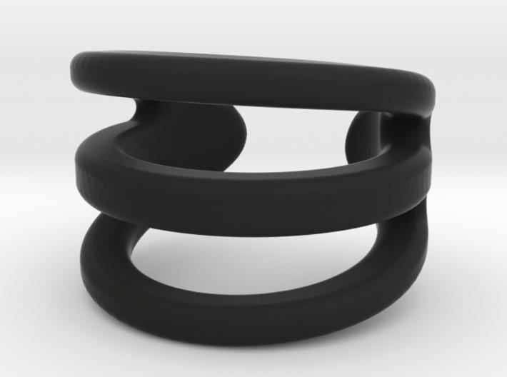 Curved Triple 3d printed