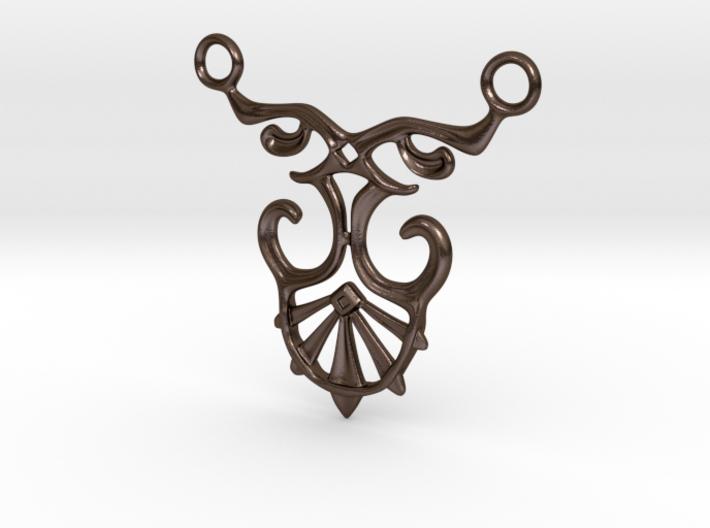 Art Deco Pendant #1 3d printed