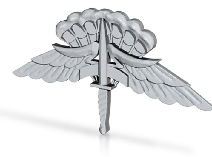 6x3 inch Basic MFF Badge 3d printed