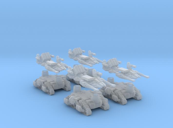 MOD S Mini Drone Weapon Platform Squad Of 4 3d printed