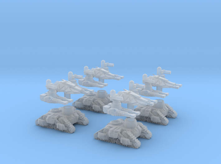 MOD S Mini Drone Oblitorators Squad Of 4 3d printed