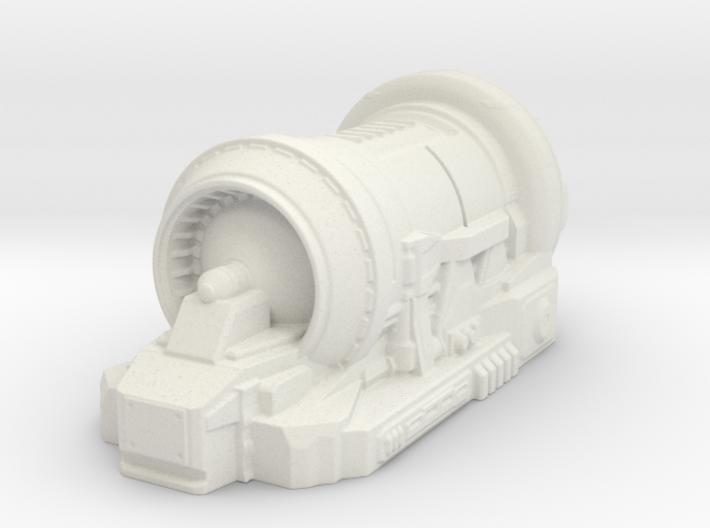 sci fi generator - tabletop size 3d printed
