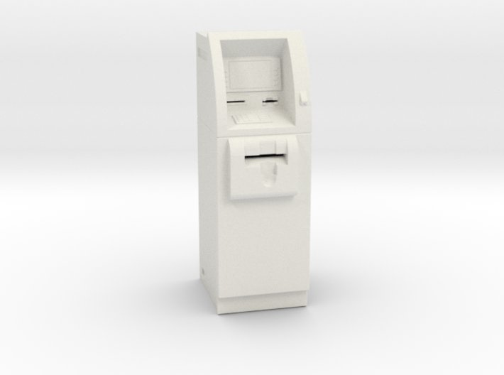 SlimCash 200 ATM, Dollhouse 1:24 Scale 3d printed