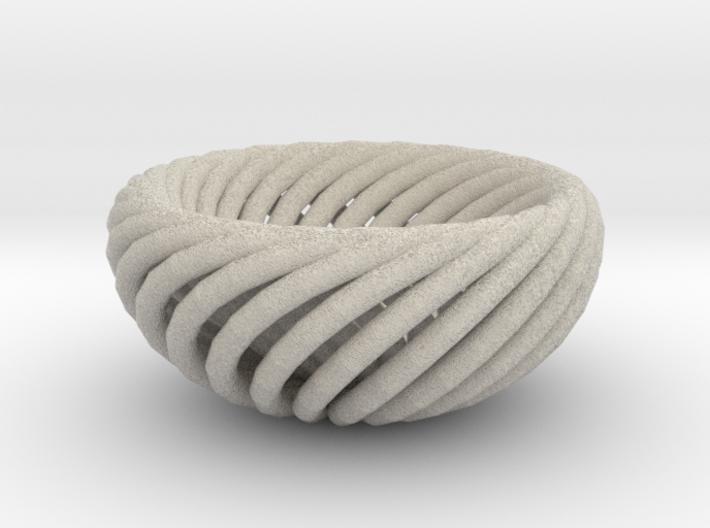 Torus bowl 3d printed