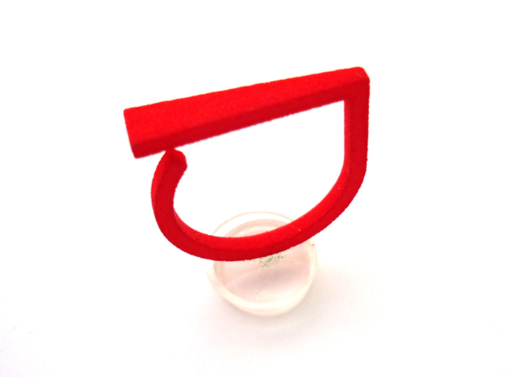 Adjustable ring. Basic model 9. 3d printed Add a caption...