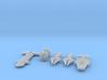 QSR Package: TFN versus KON 3d printed