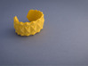 Facet Bracelet #01 3d printed Facet Bracelet #01 printed in warm yellow