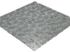 Seamless Leaf Pattern Tile_07 3d printed