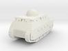 Fiat 2000 Italian WW1 Tank - 1/285 (Qty. 1) 3d printed