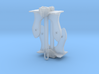 1 inch height Navy Anchor 3d printed