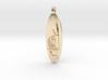 Chi Wara (Chiwara) African Jewelry Symbol 3d printed