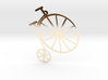 Penny-farthing (High Wheeler) Bicycle 3d printed