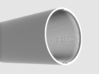 """Sightron 10-50x60 5"""" Scope shade 3d printed Difference thickness"""