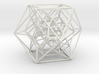 Rectified 24-cell, Perspective Projection 3d printed