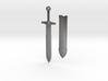 Sword letter opener 3d printed