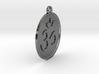 """2.1"""" Om Zen Meditation Medallion/Pendant (5.5cm) 3d printed"""