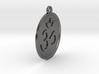 """4.3"""" Large Om Zen Meditation Medallion (11cm) 3d printed"""