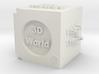 Cube of 3D Artist 3d printed