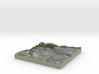 Terrafab generated model Fri Jul 17 2015 01:25:53  3d printed