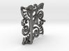 Ornate Belt Buckle  3d printed